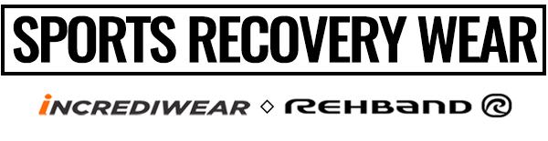 Incrediwear & Rehband Recovery Support Sports Wear Logo